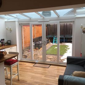 Castle Windows bifold door