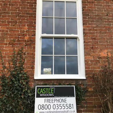 Castle Windows newly fitted window