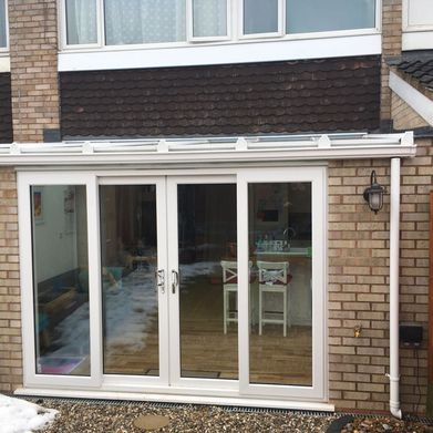 Castle Windows bi-fold doors