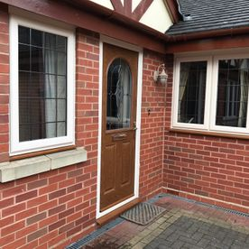 new doors and windows supplied and fitted by Castle Windows