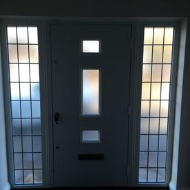 new door supplied and fitted by Castle Windows