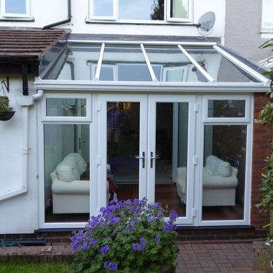 new fitted conservatory to a customers home