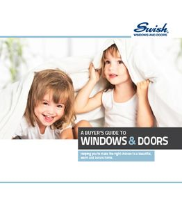 Swish Buyers Guide to Windows & Doors Brochure