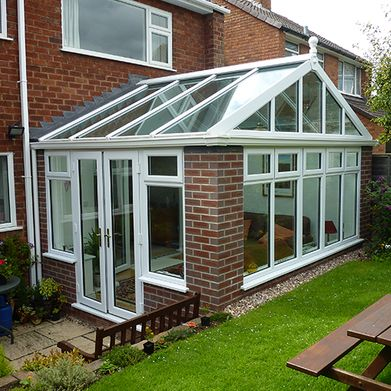 new fitted conservatory to a customers home by castle windows