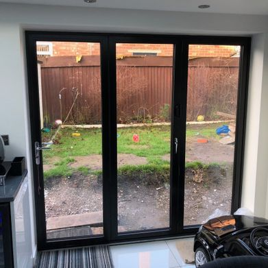 Castle Windows bi-fold door